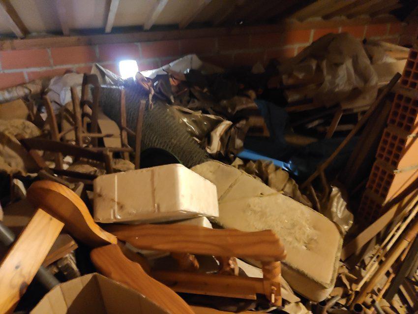 Débarras d'une maison à Saint Vincent de Tyrosse