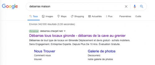 4- Annonce Google
